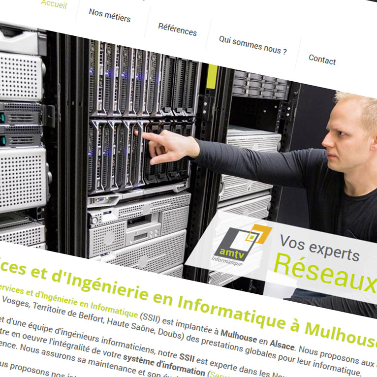 AMTV Informatique, SSII Alsace