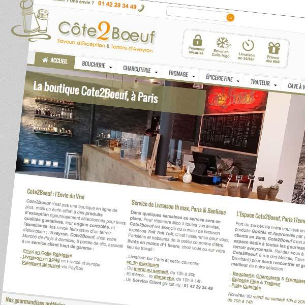 Boutique Prestashop Côte2Boeuf